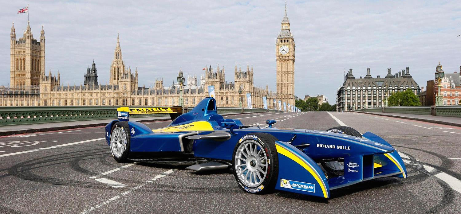 FIA Formula E Championship in London
