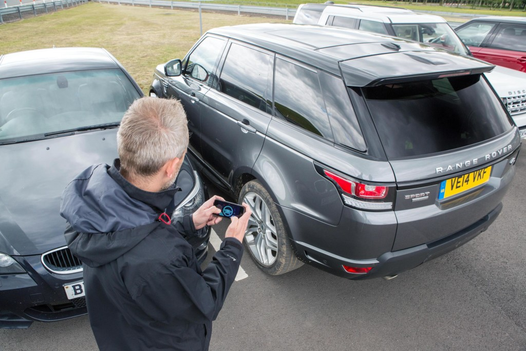 Jaguar Land Rover showcase a remote control Range Rover Sport