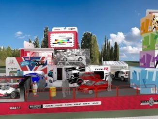 Honda Toy Car Stand for Goodwood Festival of Speed