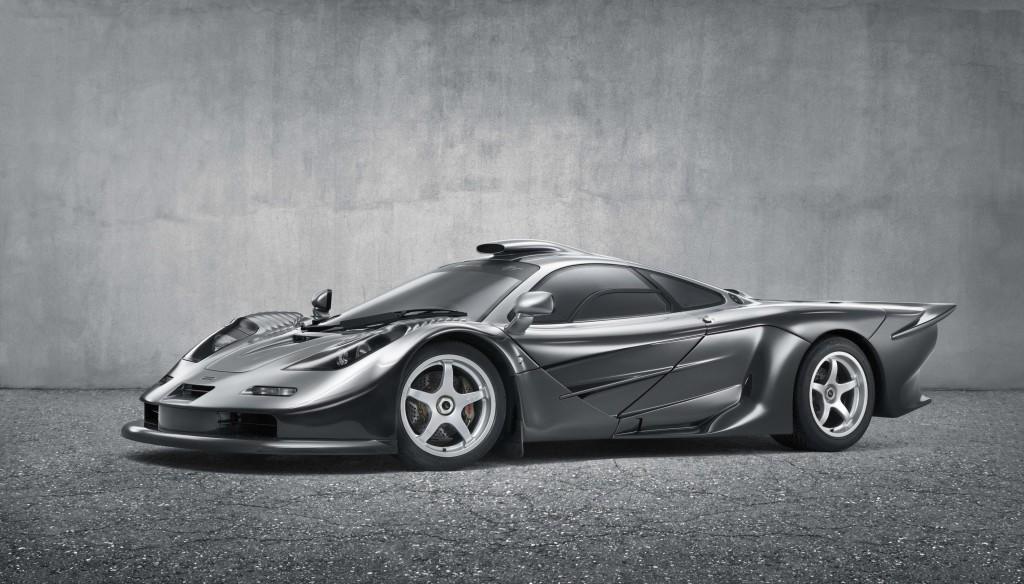 McLaren F1 GT Silver