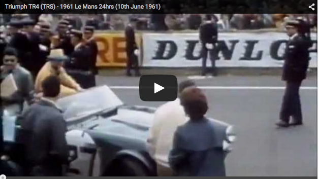 VotW - Triumph at Le Mans 1961
