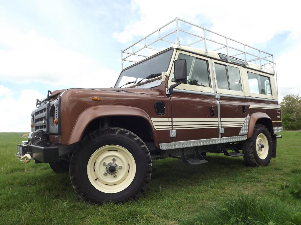 1983 Land Rover 110 County Station Wagon V8