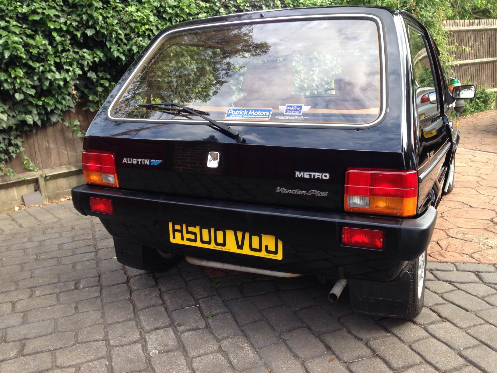 Brand New' Austin Metro For Sale - Just British