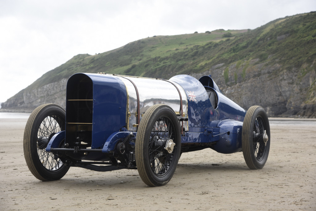 350hp Sunbeam at Pendine 1