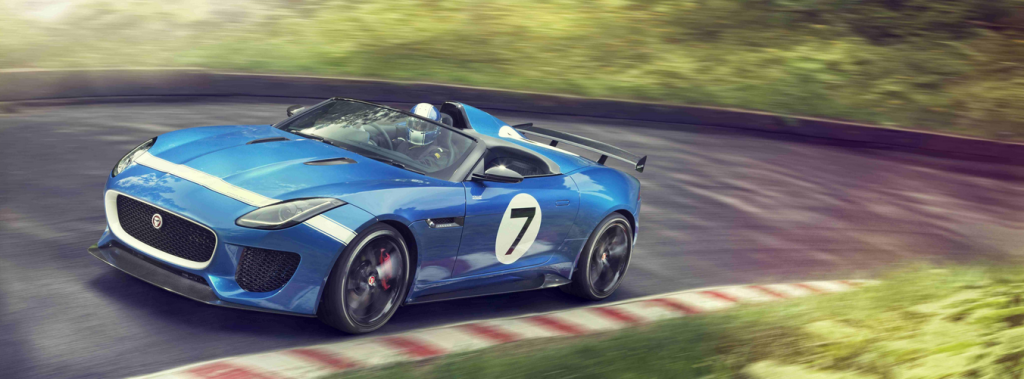 Jaguar Project 7 Concept in 2013 at Shelsley Walsh