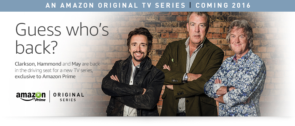 Top Gear - Hammond, Clarkson, and May