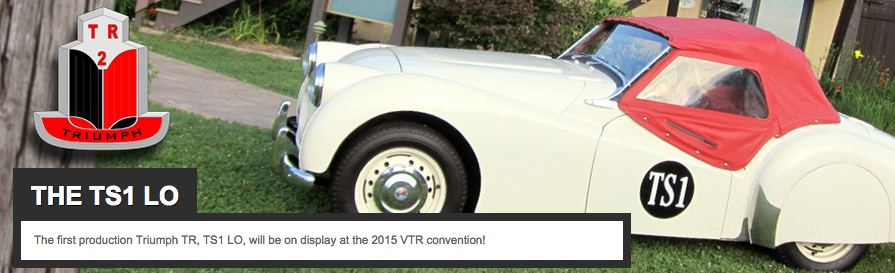 Vintage Triumph Register Convention 2015