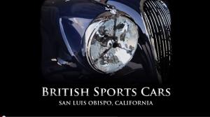 VotW - British Sports Cars in San Luis Obispo, California