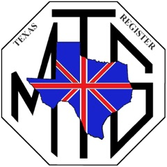 Texas MG Register Logo