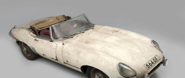 1961 Jaguar E-Type Chassis No 60 before restoration by CMC (Ph. John Colley)