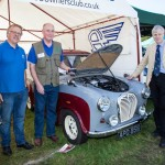 2015 Best Stand Lolly Lee Robert Prinn and Harry Douglas from A30 A35 club Lord Montagu