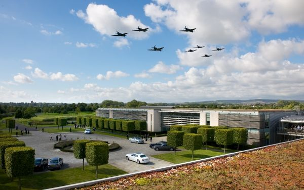 ROLLS-ROYCE CELEBRATES RECORD 2015 GOODWOOD REVIVAL Fly By Spitfire Hurricane
