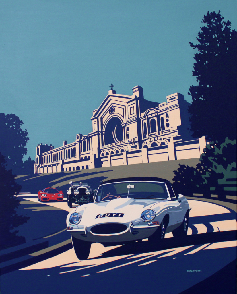 CLASSIC & SPORTS CAR – THE LONDON SHOW TO AUCTION BESPOKE ARTWORK FOR CHARITY WESEEHOPE