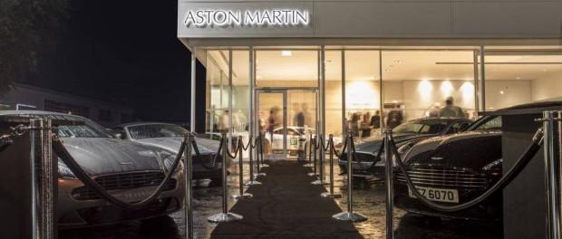 Aston Martin Belfast Opening