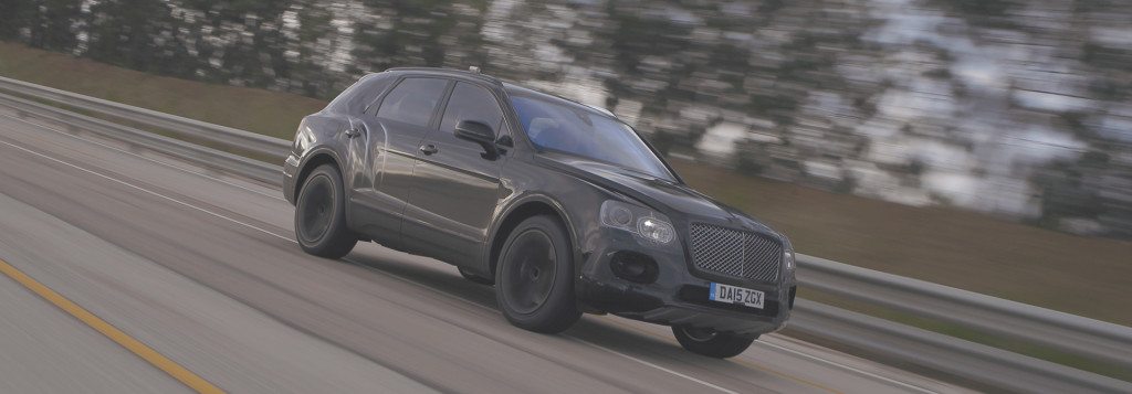 Bentley Bentayga Exploring the limits of performance