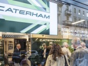 Caterham Cars opens new showroom in Italy