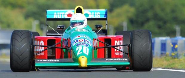 Ex-Nelson Piquet Benetton B190 F1