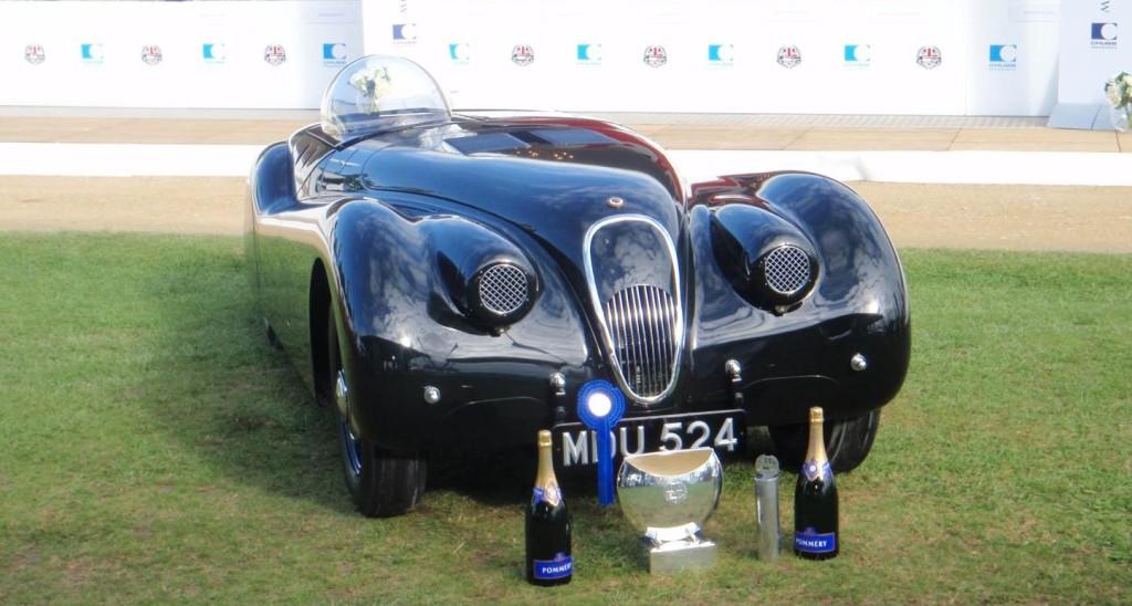 Jaguar XK120 Jabbeke