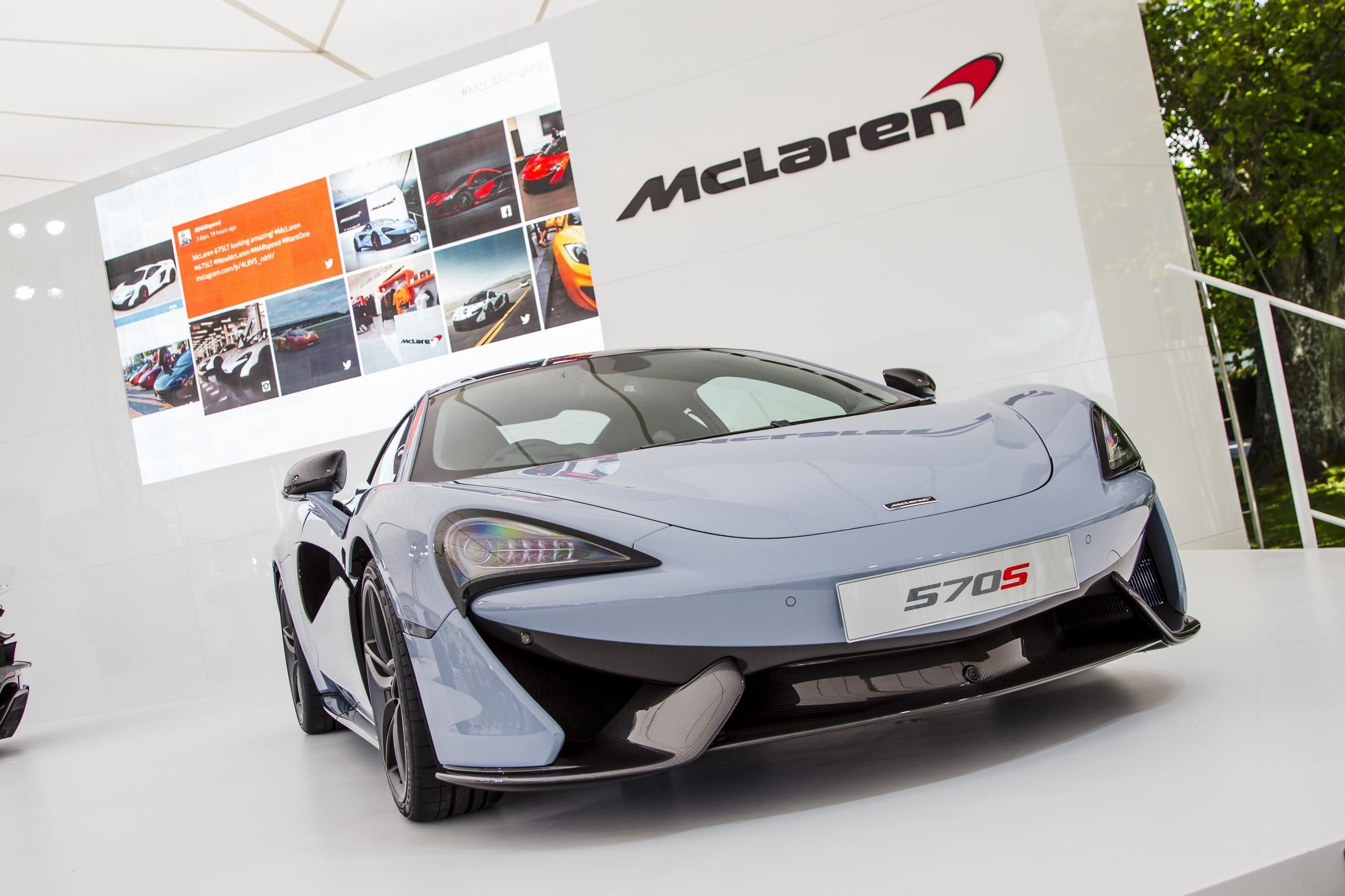 McLaren returns to Chantilly Arts & Elegance with 570S Coupé
