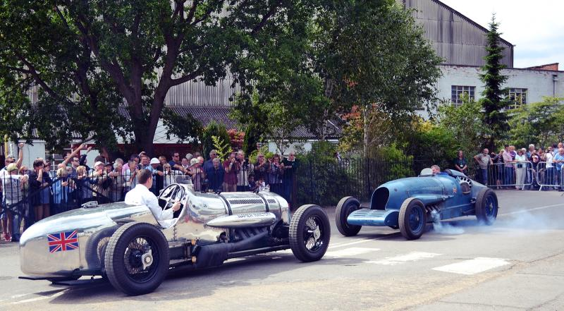 Napier-Railton and Napier-Campbell Blue Bird