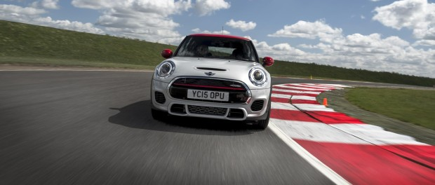 JW Mini Cooper on Track at Speed