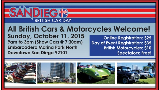 San Diego British Car Day