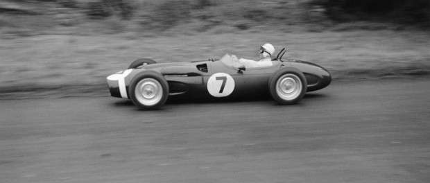 Sir Stirling Moss, Ferguson P99, Oulton Park