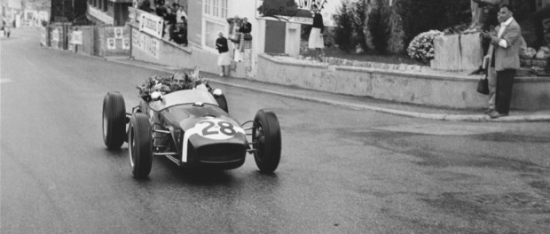 Sir Stirling Moss, Lotus 18, Monaco