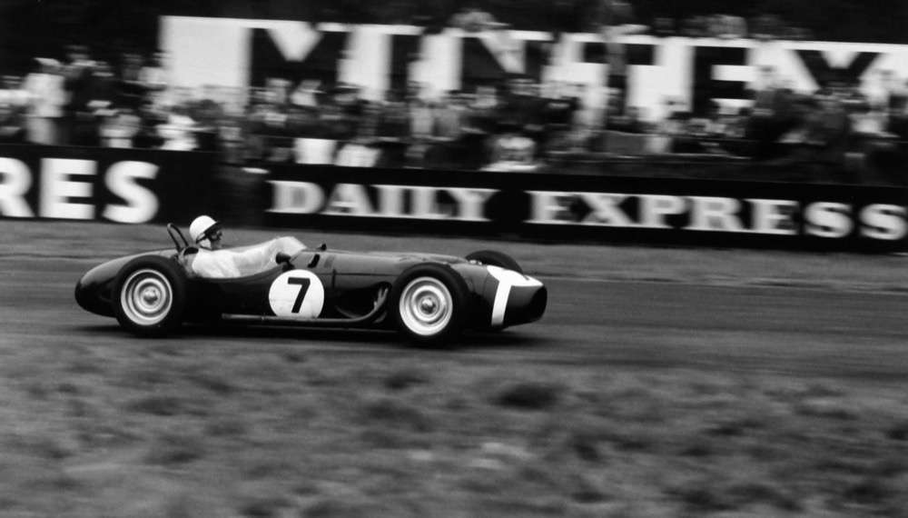 Sir Stirling Moss - Oulton Park
