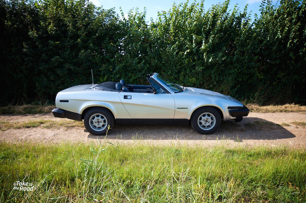 Take to the Road - Triumph TR7
