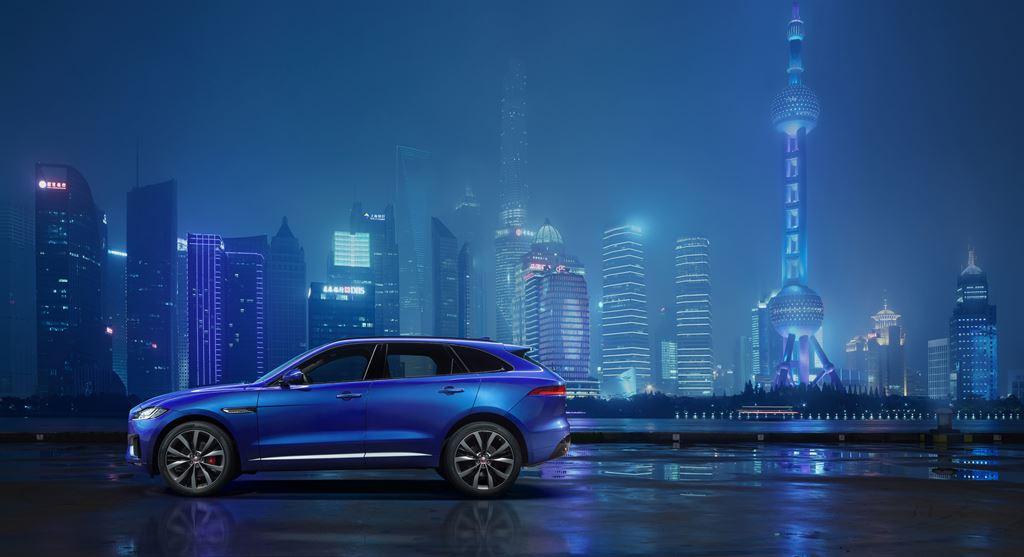Jaguar F-PACE Shanghai
