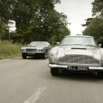 Aston Martin DB5 and DBS V8