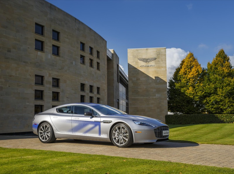 Aston Martin full electric RapidE concept