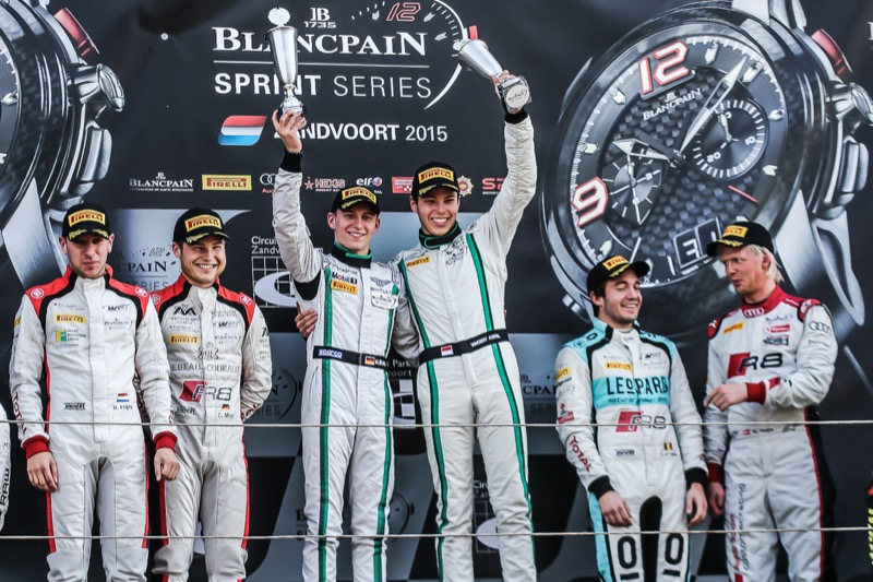 Bentley Continental GT3 wins Blancpain Sprint Series - 1