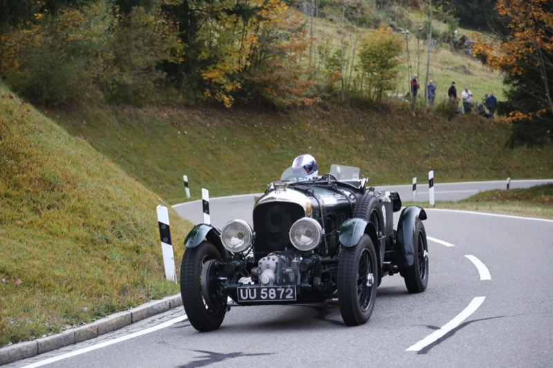 Bentley at Jochpass Oldtimer Memorial & Historic-Rallye 3