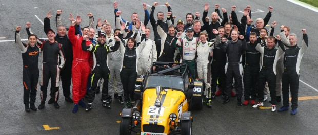CATERHAM MOTORSPORT SEASON COMES TO A CLOSE AT SILVERSTONE