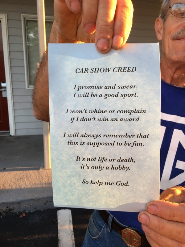 Car Show Creed