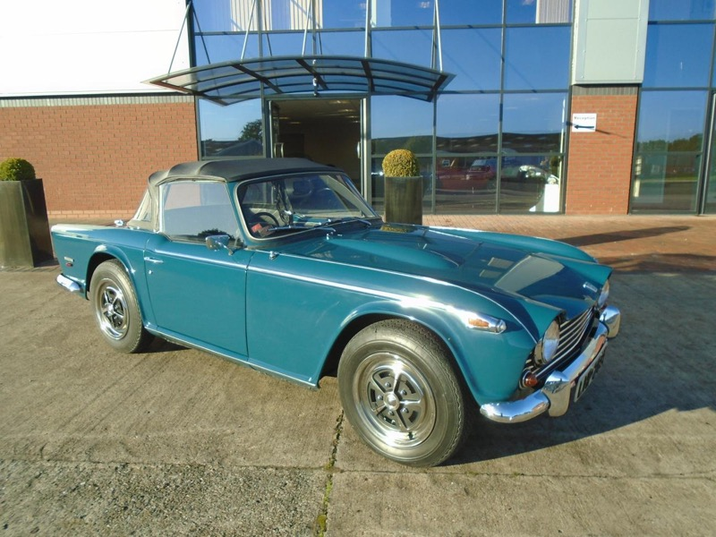 First production TR5 to be sold by Classic Motor Cars 1