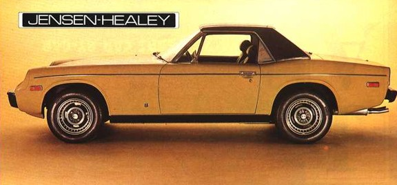 Jensen Healey Ad - Side 1974