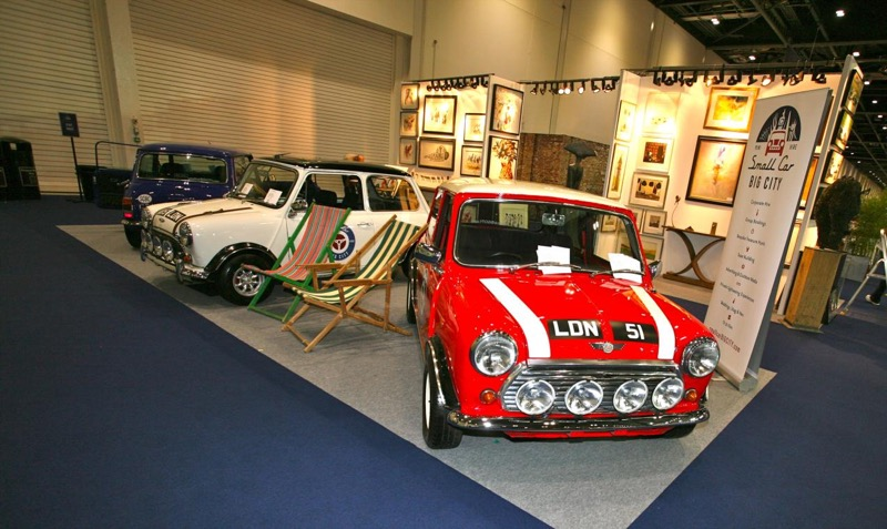 London Classic Car Show Grows Just British - Car show in london