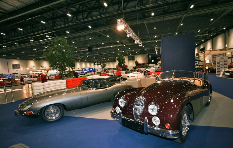 London Classic Car Show Grows Just British - London classic car show