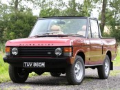 RARE RANGE ROVER CONVERTIBLE HEADS TO NEC CLASSIC MOTOR SHOW SALE AUCTION