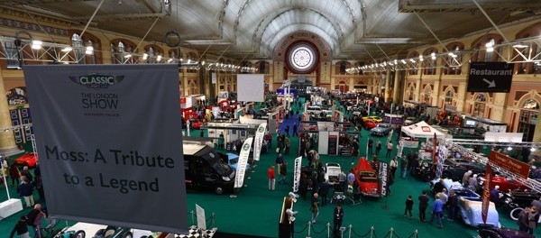 SUCCESFUL FIRST DAY AT CLASSIC and SPORTS CAR THE LONDON SHOW