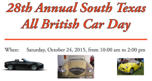 South Texas All British Car Day