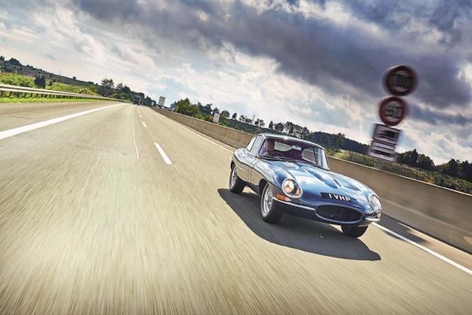 1961 Jaguar E-Type chassis 860001