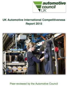 Automotive Council UKIC Report 2015