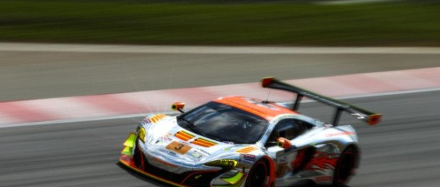 McLaren 650S GT3 at round 2 of Asian Le Mans Series in Sepang