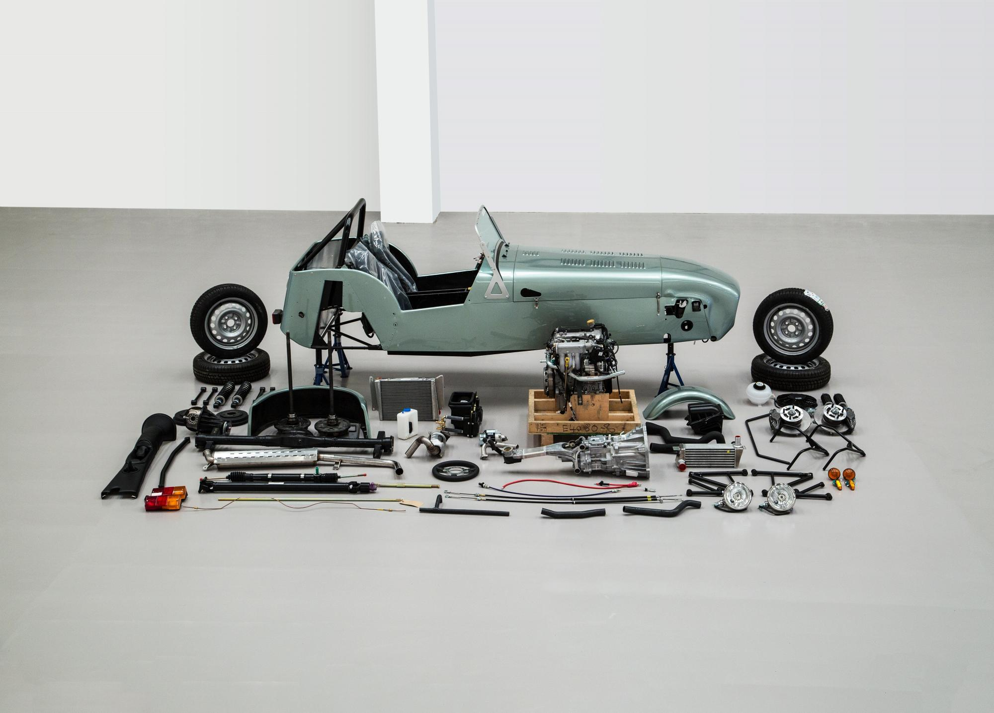 Finance your Caterham Seven 160 self-assembly