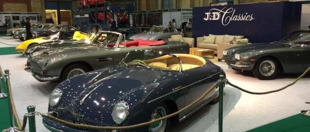 Highly successful weeked for JD Classics at Classic & Sports Car - The London Show