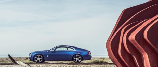 Rolls-Royce Wraith celebrated as a future classic at NEC